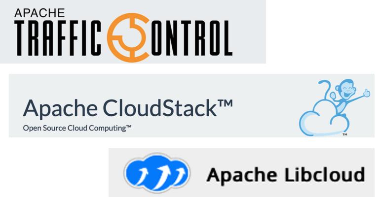 Apache cloud project logos