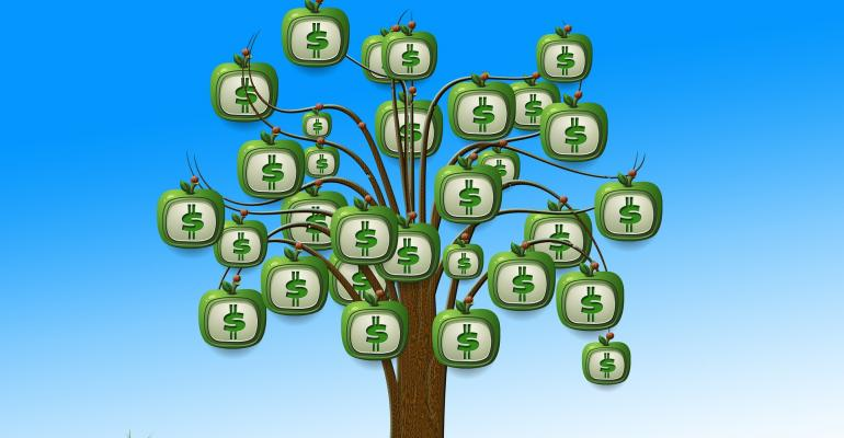 Money doesn't grow on trees.