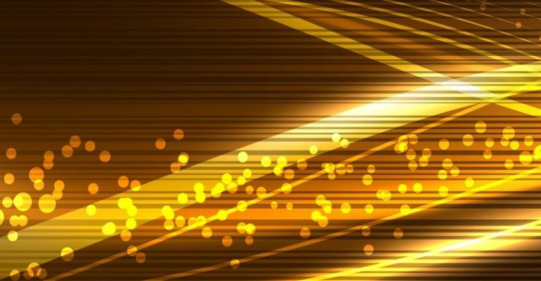 Abstract Image of Gold and Black Colors