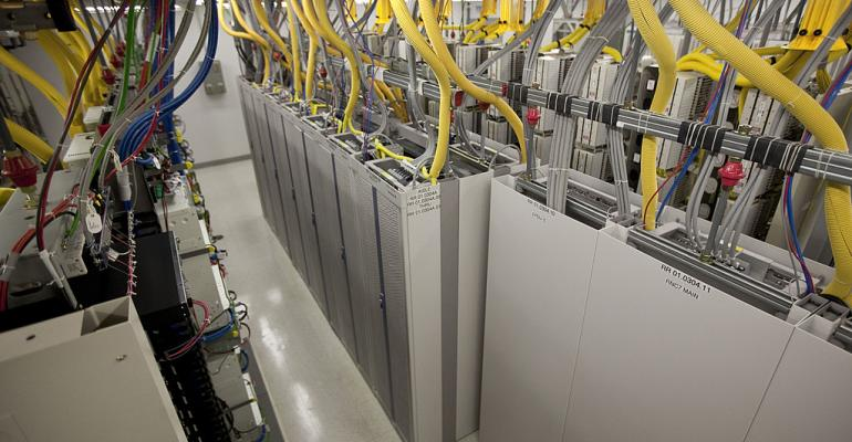 Bays of equipment line the 3G area at an AT&T mobile telephone switching office in October 2012 in Charlotte, North Carolina. The center handles wireless AT&T traffic from the western part of North Carolina.