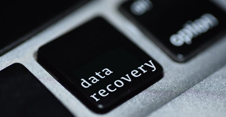 data recovery key on keyboard