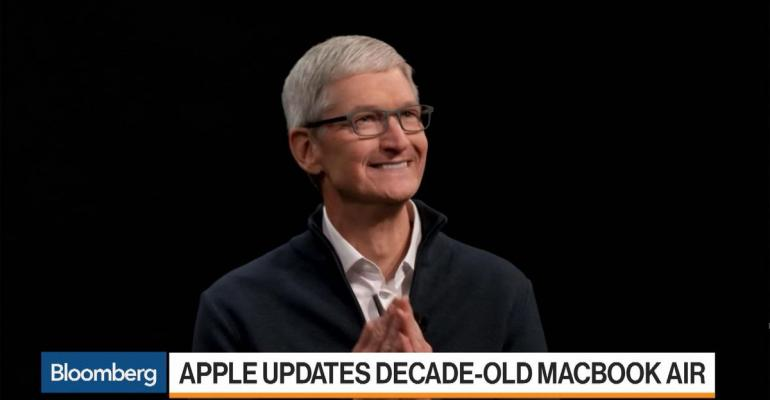 Tim Cook is introducing new hardware