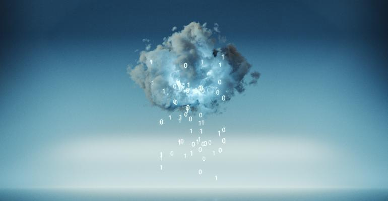 Cloud computing with raining machine code