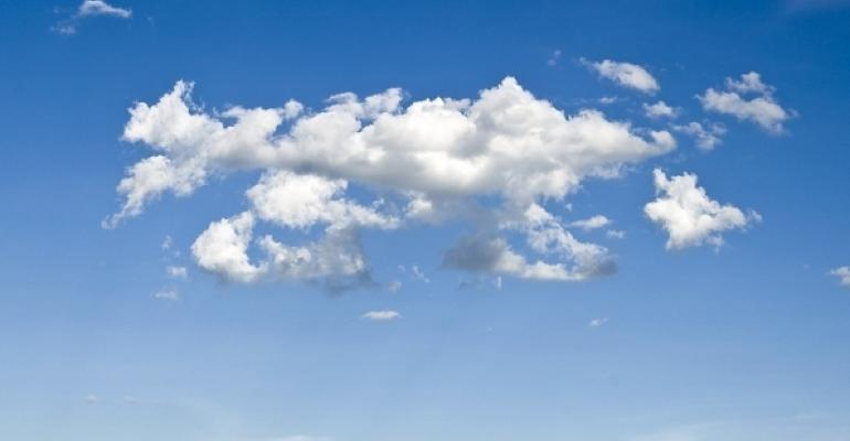 generic cloud background