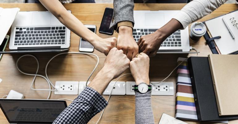 Collaborating Team Members