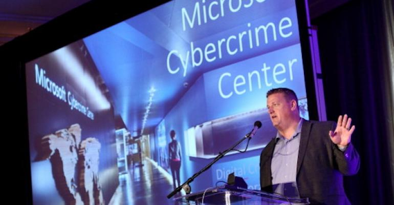 Microsoft's Cybercrime Center is positioned as a digital crimes unit.
