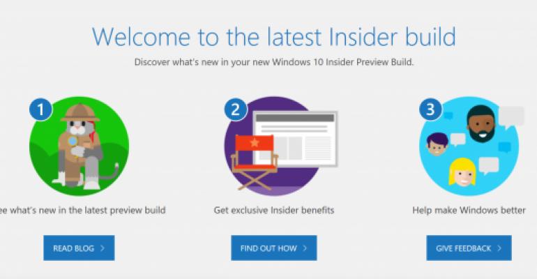 Windows Insider Build Hero Image