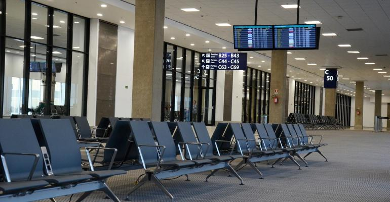Image of airport waiting area