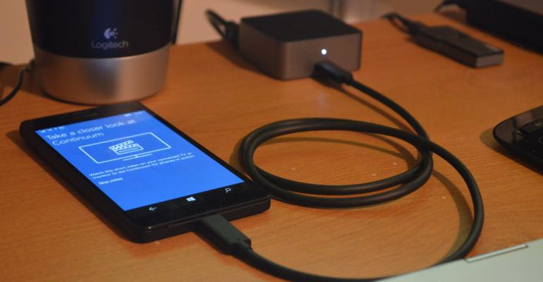 Windows 10 Mobile Continuum Gallery