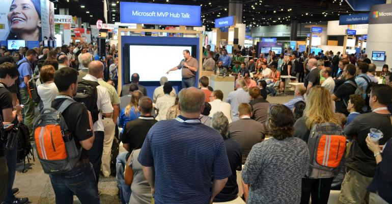 Microsoft Ignite: Checking out the Microsoft Showcase