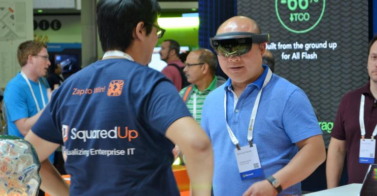 Microsoft Ignite: Checking out the Expo Show Floor