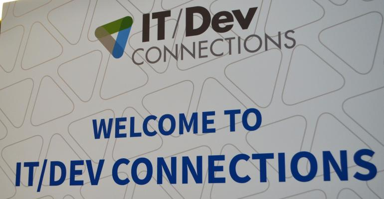 IT/Dev Connections: On Site with our Annual Community Driven and Expert Led Conference