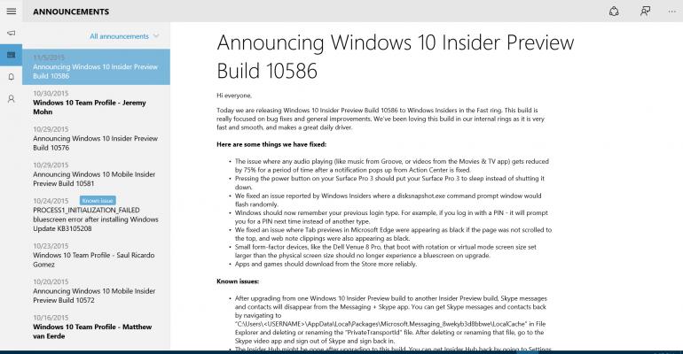 How to reinstall the Windows 10 Insider Hub