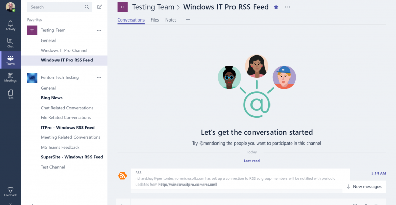 Quick Tip: How to add a Connector to a Microsoft Teams Channel