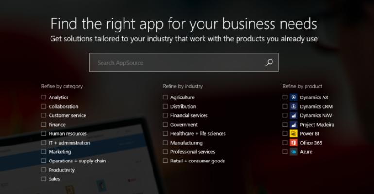 Resource - Microsoft's AppSource Portal