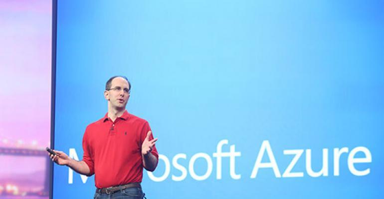 Scott Guthrie delivering his keynote at Build 2014