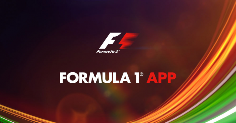 App Tour - Official Formula 1 Windows 10 App