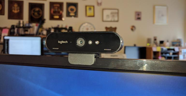 Unboxing the Logitech BRIO 4K Pro Webcam