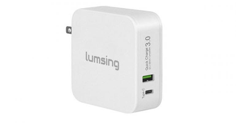 Review: Lumsing 48W dual port Quick Charge 3.0 and Type-C Wall Charger