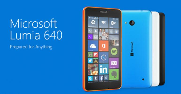 First Look: Microsoft Lumia 640