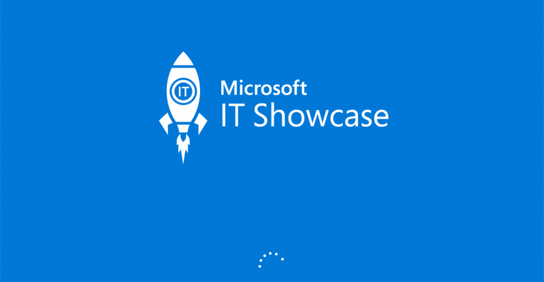 App Tour: Microsoft IT Showcase Universal Windows Platform (UWP) App
