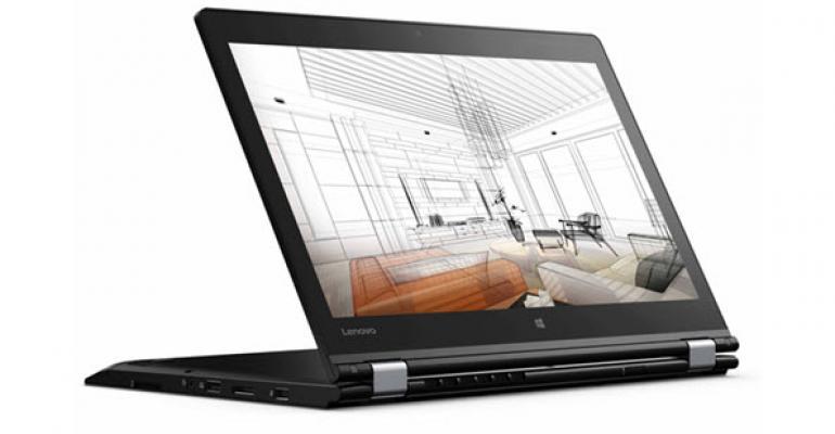 First Look: Lenovo ThinkPad P40 Yoga Mobile Workstation