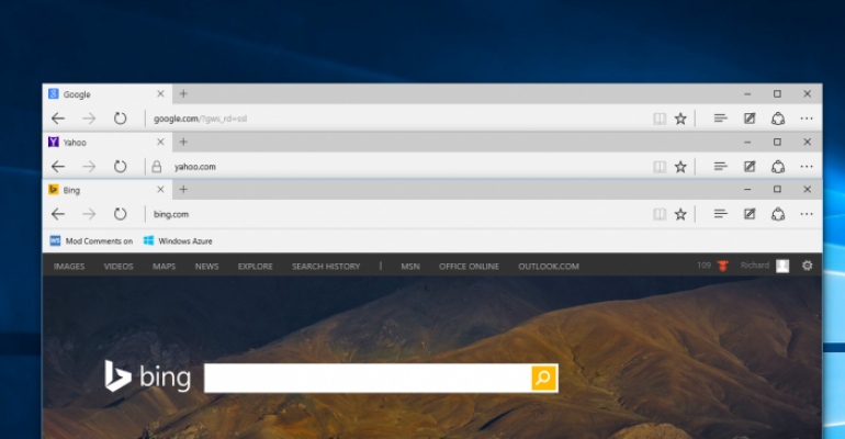 How to change the default search engine in Microsoft Edge on Windows 10