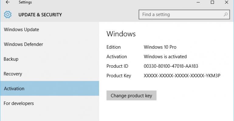 Windows 10 November Update: Activate OS using your Windows 7 and 8 Product Keys