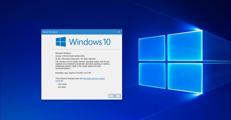 Hands On: Windows 10 Redstone 3 Build 16188