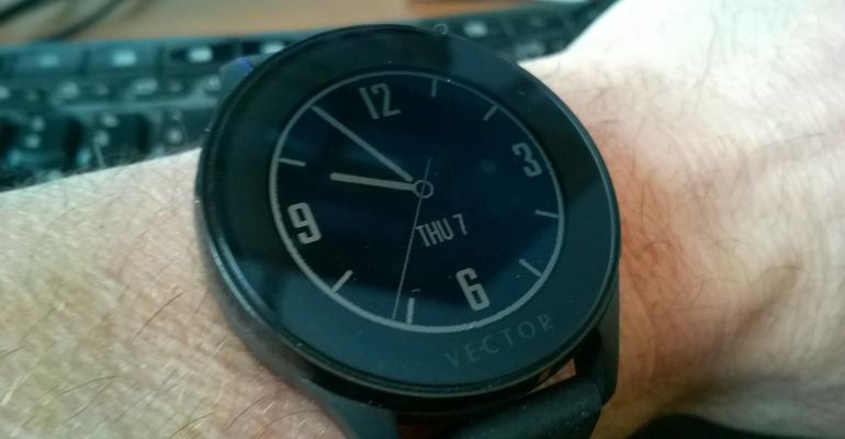 First Look: Vector Smartwatch