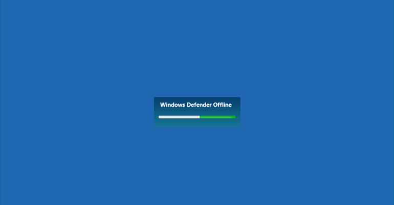 Quick Tip: How to use Windows Defender Offline in Windows 10 Anniversary Update
