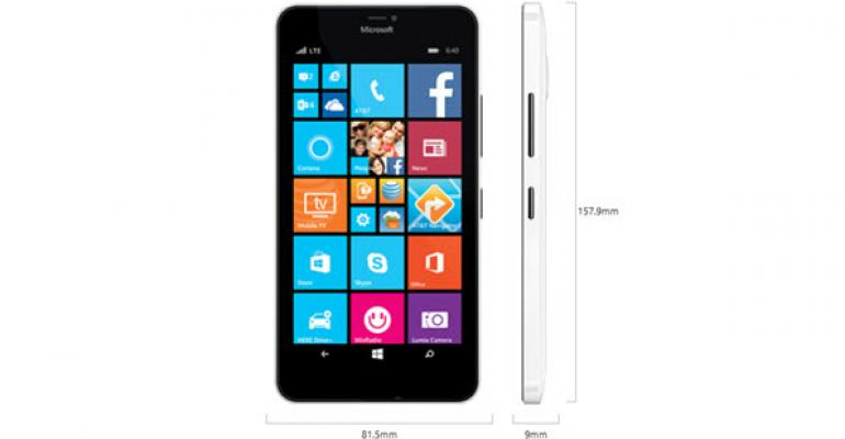 First Look: Microsoft Lumia 640 XL on AT&T