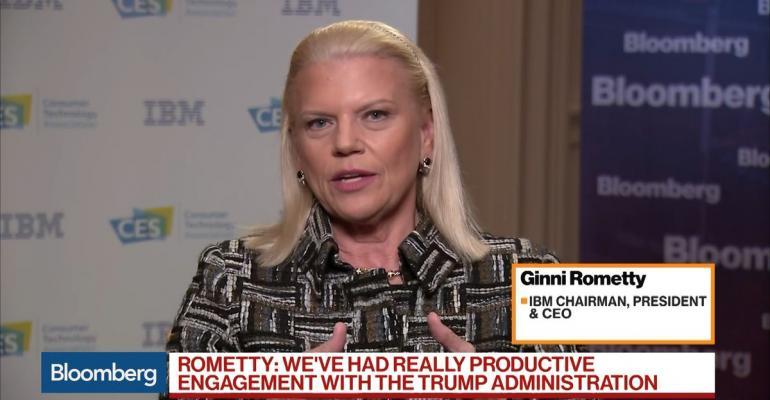 CEO Gini Rometty