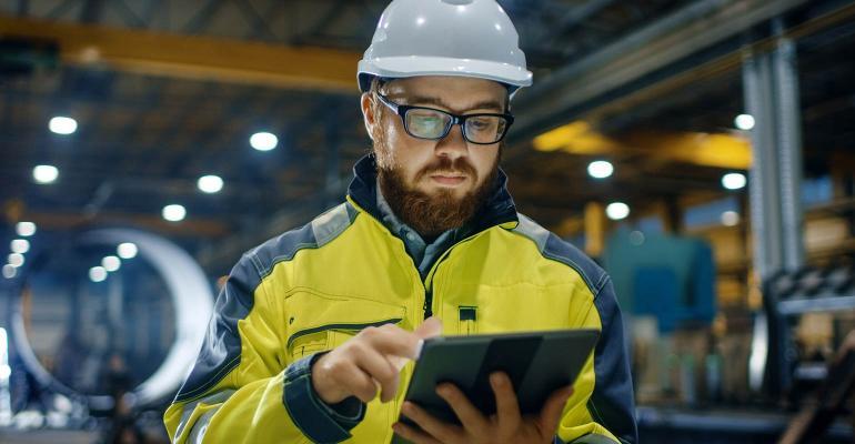 Industrial IoT Worker