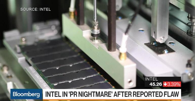 Intel is reporting a chip flaw