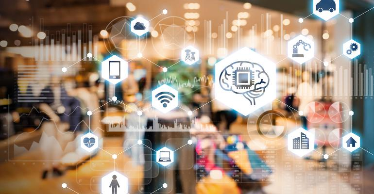 IoT-enabled store