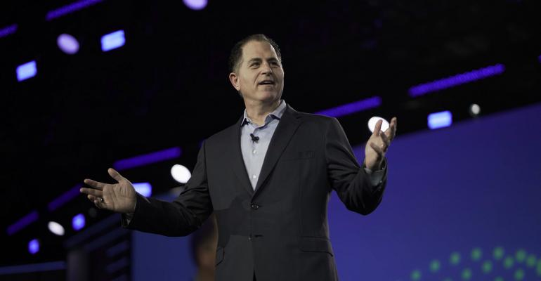 Dell Technologies CEO Michael Dell speaking at Dell Technologies World 2019