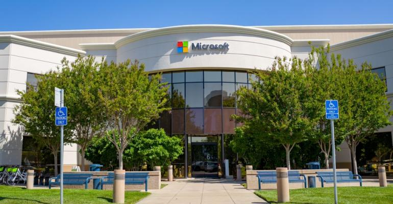 Microsoft offices in Mountain View, California, 2019