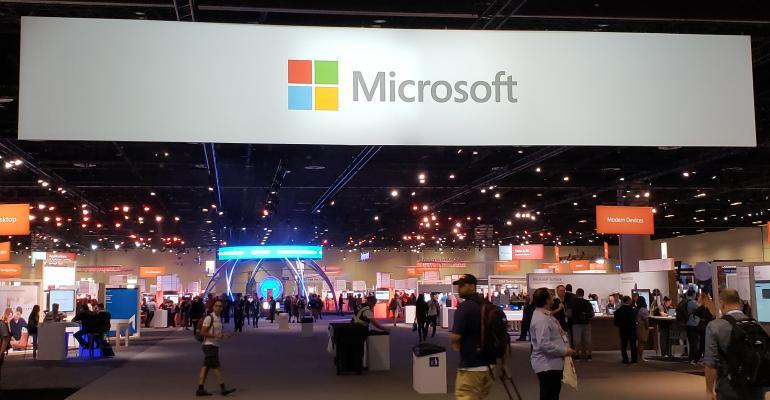 Microsoft Ignite Expo Banner Image
