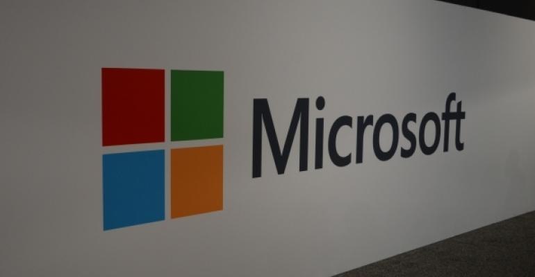 Microsoft Logo from Ignite 2017