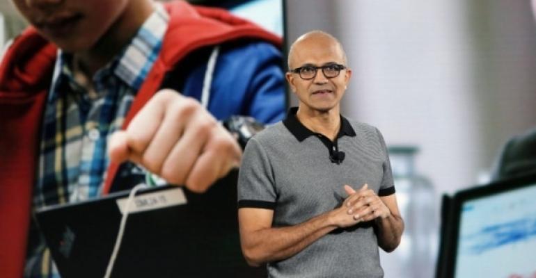 Satya Nadel at Microsoft