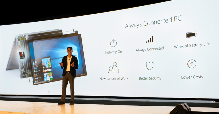 Windows 10 & Snapdragon Always Connected PCs