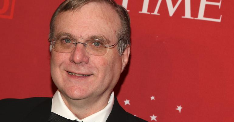 Paul Allen, seen here at the Time 100 Most Influential People event