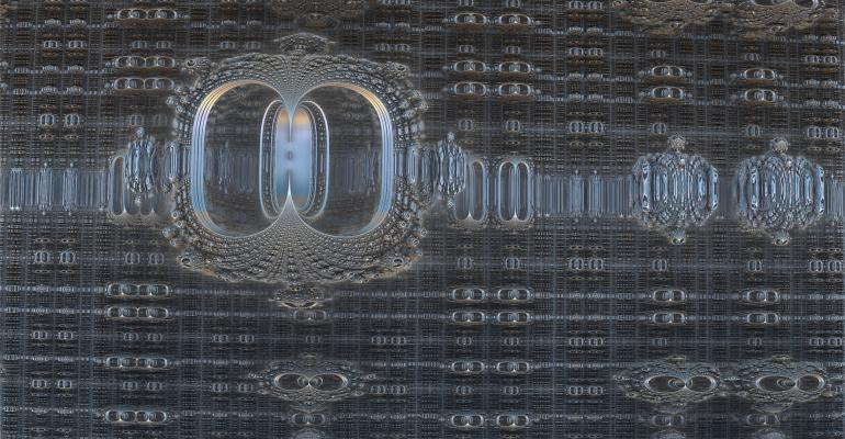 Quantum computing is represented here by this mathematically complex image