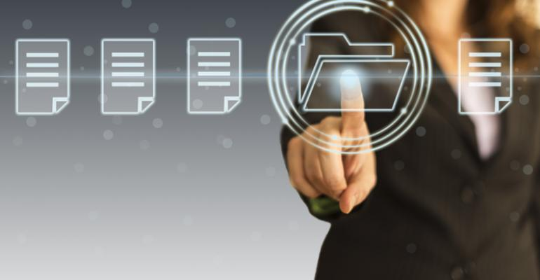 Remote document management in the cloud