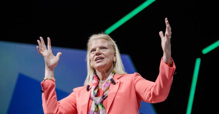 Ginni Rometty Photographer: Marlene Awaad/Bloomberg