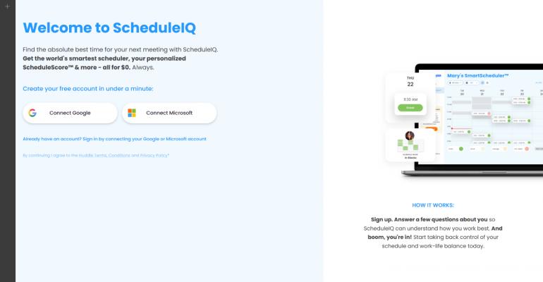 scheduleIQ home screen screenshot.png