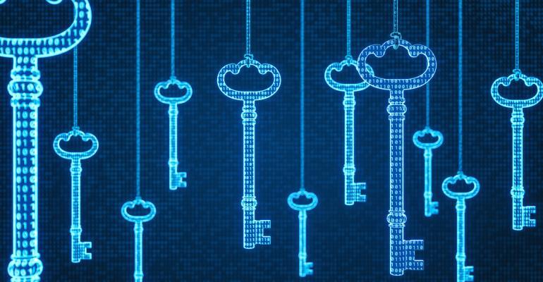 security authentication keys