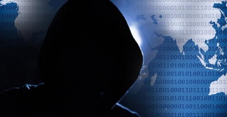 Shadowy hacker