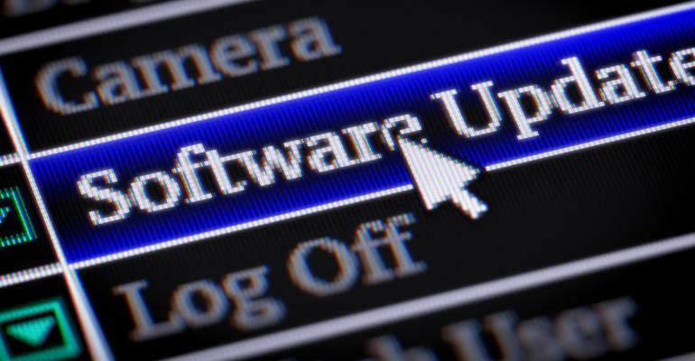 updating software